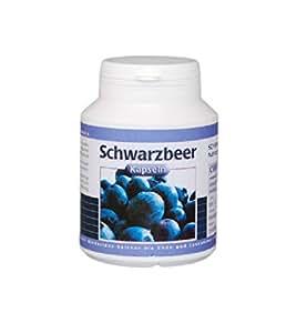 Mirtillo nero 200mg 100 Capsule Vita World farmacia Germania Luteina Zeaxantina