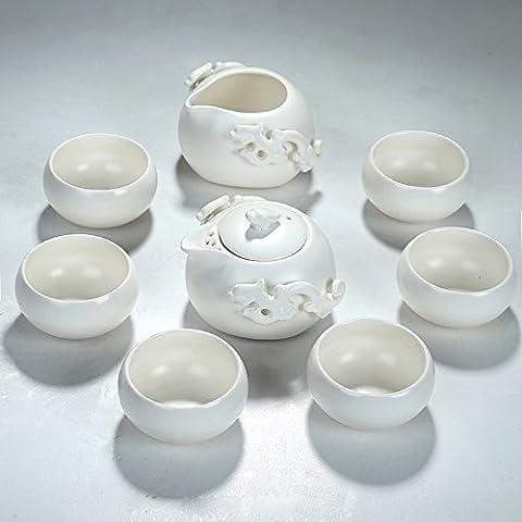 Yifom Ceramica set da tè teiera set da tè teacups