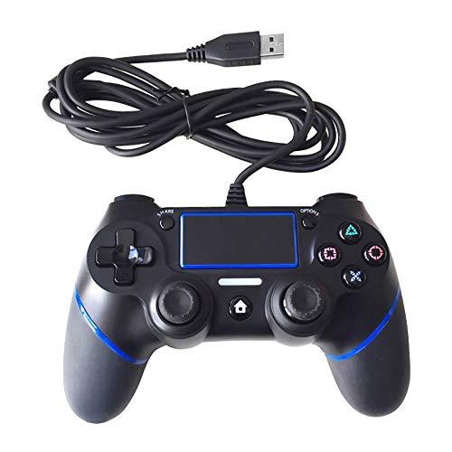 PIANAI PlayStation4 Controller-Joystick-Gamepad mit Kabel,PS4,Blue