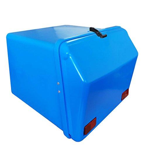 Portaequipajes Moto baúl Reparto Azul/Azul con Reflectantes homologados
