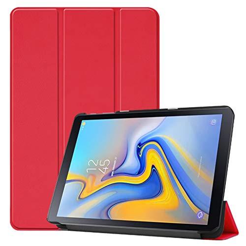 Schutzhülle für Samsung Galaxy Tab Advanced 2 SM-T583, Mehrere Winkel Ständer-Schutzhülle mit Auto-Sleep/Wake-Funktion für Galaxy Tab Registerkarte SM-T583 10.1 Zoll (SM-T583) Tablet (Red)