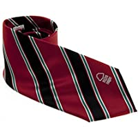 Nottingham Forest FC Official Product Men's Polyester Tie Woven Club Crest New STRIPE by Home Win