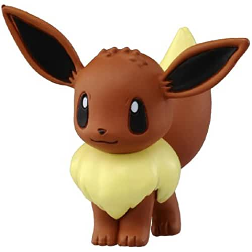 figuras kawaii Takaratomy Official Pokemon X and Y MC-029 2 Eevee Action Figure