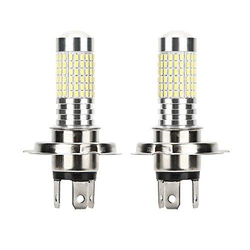 Preisvergleich Produktbild CICMOD 2x 1500 Lumen 80W H4 9003 HB2 LED Birnen Nebelscheinwerfer Tagfahrlicht TFL Lampe Xenon-Weiß 6000K