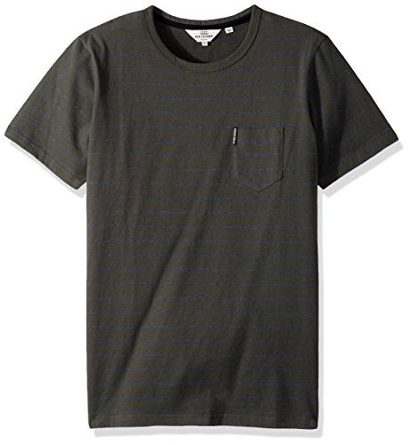 Ben Sherman Men's Fine Stripe Crew Tee T-Shirt