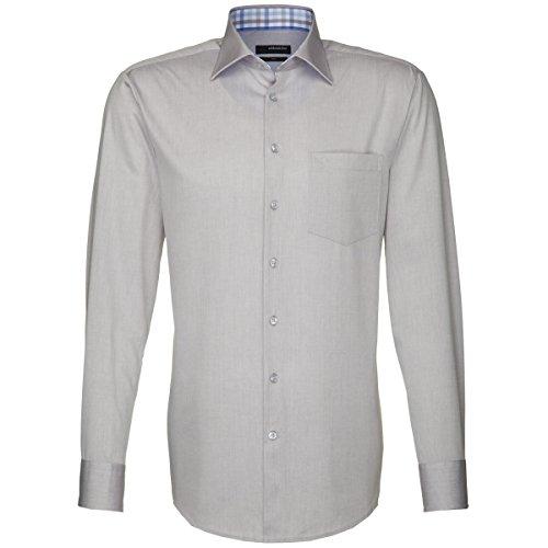 Superficie adesivo Per camicia da uomo Regular Fit UNO 1/1-braccio Staffa facilmente, 01,139766 hellgrau (0033)