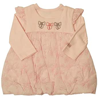 Dizzy Daisy Baby Girl's Pretty Bows Top and Pinafore Pink 3 - 6 Months