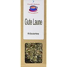 Candé Natura Teemanufaktur Gute Laune Kräuterteemischung, 5er Pack (5 x 50 g)