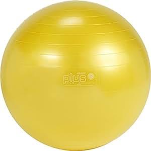Gymnic Classic Plus 55 Ballon de gymnastique Rouge