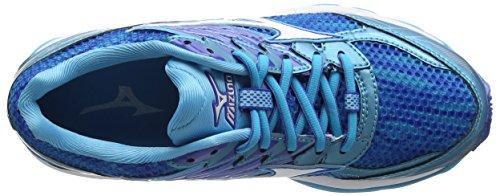 Mizuno Damen Wave Paradox 3 (W) Laufschuhe Blau (Blue Atoll/white/strong Blue)