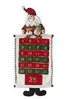 "Christmas Characters Advent Calendar - 30"" (75cm) - Fabric - Reuseable"
