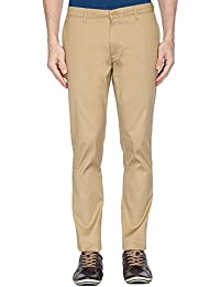 Blackberrys Mens Skinny Fit 4 Pocket Solid Chinos