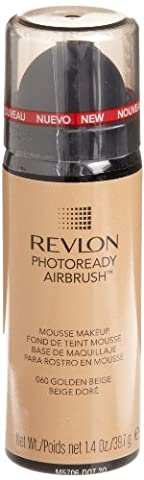 Revlon - Photoready Airbrush - Maquillage Mousse - 060 Beige Doré