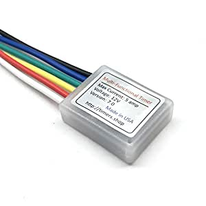 Buy XDP 12V 5A Power on or Off Delay Time Relay 2 Sec to ... A Wiring Off Delay Relay on