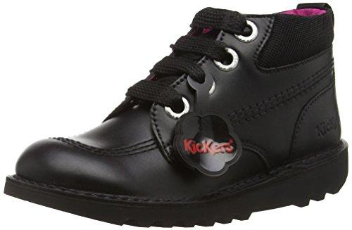 Kickers Kick Hi Colfi, Bottes fille Noir