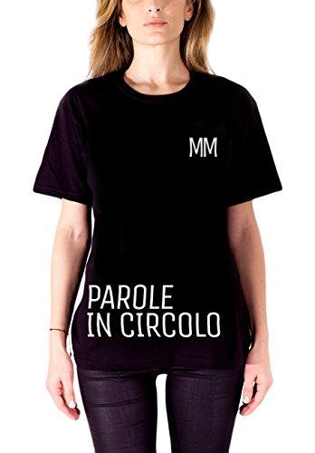 Marco Mengoni T-Shirt Parole in Circolo Limited Edition, Maglietta Donna