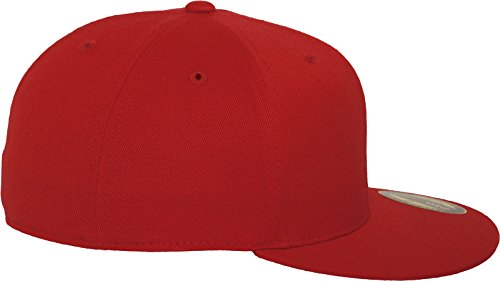 Flexfit Premium 210 Fitted red