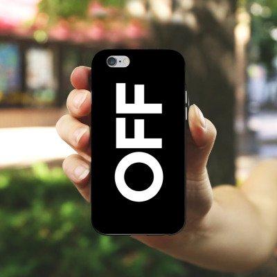 Apple iPhone X Silikon Hülle Case Schutzhülle House Electro Techno Silikon Case schwarz / weiß