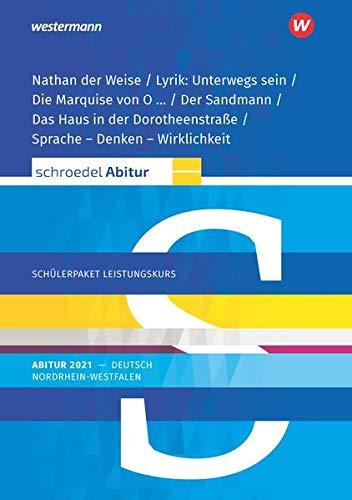 Schroedel Abitur - Ausgabe für Nordrhein-Westfalen 2021: Schülerpaket Leistungskurs zum Abitur 2021: Deutsch - Qualifikationsphase