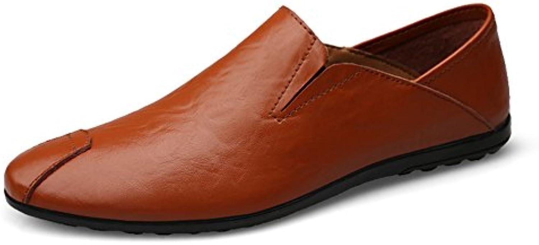 XUE Herrenschuhe Leder Fruumlhjahr Herbst Komfort Slipper  Slip Ons Driving Shoes Laufschuhe Buumlro  Karriere Atmungsaktiver