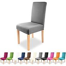 Gräfestayn Universal –Funda para silla Charles en diferentes colores para respaldos de silla redondos y cuadrados.