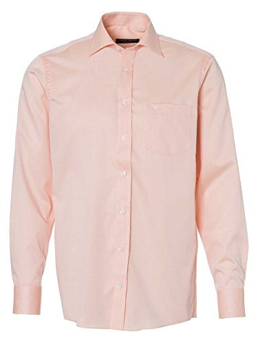 CASAMODA Messieurs Chemise d'affaires 006140 manches longues comfort fit abricot