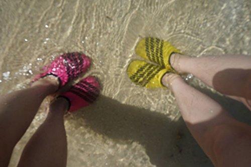 Amazmall Barfu? Schuhe Wassersportschuhe Strand Schwimm Schuhe Surfschuhe f¨¹r Damen & Herren Red