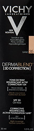 Vichy Dermablend 3D Correction Corrective Resurfacing Active Foundation 16HR SPF25 30ml - Colour : Sand 35