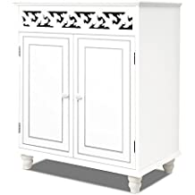 Credenza Jersey a 2 ante bianco –