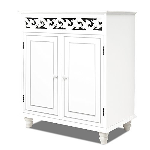 white-wooden-cupboard-cabinet-sideboard-2-doors-furniture-freestanding