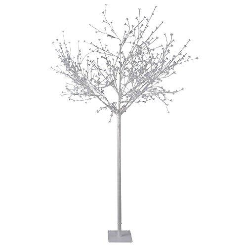Luxus 600x LED's Outdoor Baum Steh Leuchte XMAS Weihnachts Beleuchtung weiß IP44 Leuchtbaum Leuchten Direkt 86130-16 (Weiße Weihnachten Led-leuchten)