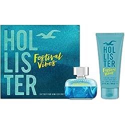 Hollister Festival Vibes for Him Eau de Toilette et Toilette Cheveux Corps