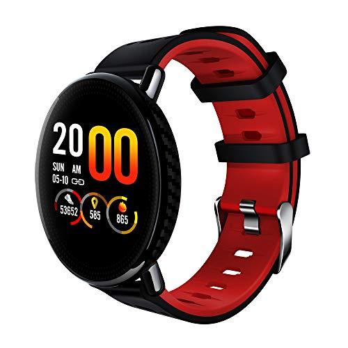 LNLZYF Braccialetto Intelligente 2019 Nuovo SENBONO K1 Smart Watch IP68 Impermeabile Orologio Fitness Tracker Monitor per la...