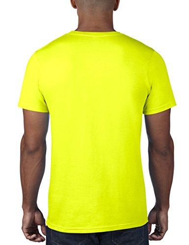 anvil Herren Fashion Basic Tee / 980 Gelb (NEY-Neon Yellow 344)