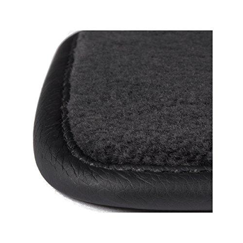 DBS 1764589 Tapis Auto - Sur Mesure - Tapis de sol pour Voiture - 3 Pièces - Antidérapant - Moquette Haute Qualité 1000g/m² - Finition Velours - Gamme Luxe