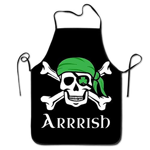 e Skull Chef Kitchen Cooking and Baking Bib Apron ()