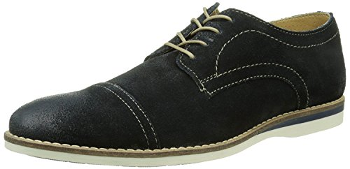 Base London - Concoct, Chaussures Pour Hommes Greasy Navy