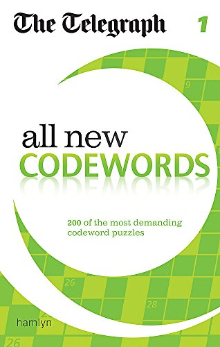 The Telegraph: All New Codewords 1 (The Telegraph Puzzle Books) por THE TELEGRAPH