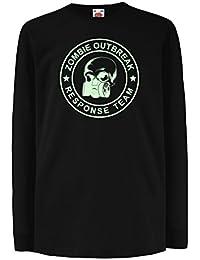 e53bc33cdbd66 lepni.me Enfants garçons Filles T-Shirt Zombie Outbreak Response ...