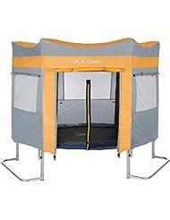 Ultrasport Tente pour Trampoline de Jardin Ultrasport Jumper Bleu & Rose, (Modèles Depuis Mai 2014)
