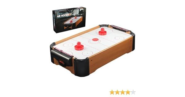 Air hockey tisch platte inkl schläger pusher tabletop airhockey