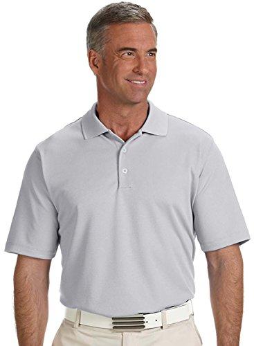 Golf Climalite (adidas Golf Mens Climalite® Solid Polo (A170) -Chrome -S)