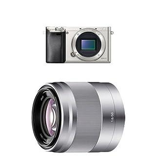 "Sony Alpha 6000 Systemkamera (24 Megapixel, 7,6 cm (3"") LCD-Display, Exmor APS-C Sensor, Full-HD, High Speed Hybrid AF) silber + Sony SEL50F18, Porträt-Objektiv (50 mm, F1,8 OSS, E-Mount APS-C, geeignet für A5000/ A5100/ A6000 Serien& Nex) silber (B01HGQXYYO)   Amazon price tracker / tracking, Amazon price history charts, Amazon price watches, Amazon price drop alerts"