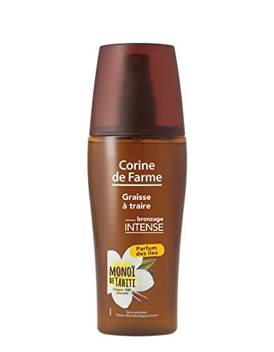 Corine de Farme Graisse à Traire en Spray Bronzage Intense Parfum des Iles 150 ml