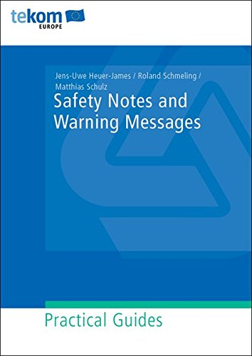 Saftey Notes and Warning Messages (Praxisleitfäden)