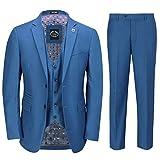 Xposed Herren Anzug Blau blau 116,84 cm 91,44 cm Gr. 27, blau