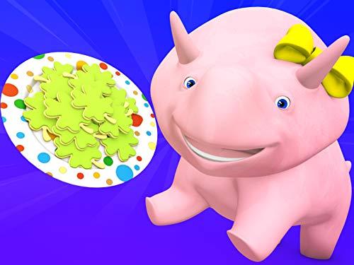 【Saint Patrick】Farben des Regenbogens / Lerne Zahlen beim Spielen mit Lego!  / NBA / Mach ein lustiges Süßigkeitengesicht (Tv Nba)
