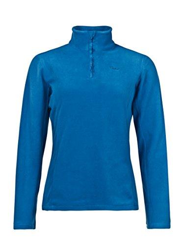 Protest mutey 1/4Zip Top da donna, blu zaffiro, M