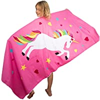 Kids Beach Towels - Quick Dry Lightweight Microfibre with Carry Bag