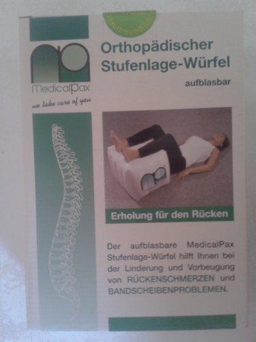 Medicalpax Stufenlage Würfel Orthopädischer aufblasbarer Würfel